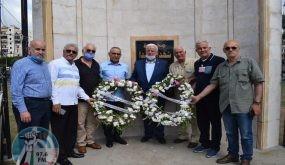 لبنان: قيادة فصائل منظمة التحرير تضع أكاليل الزهور على أضرحة الشهداء بمناسبة العيد