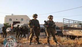 الاحتلال يستولي على معدات تابعة لبلدية نابلس
