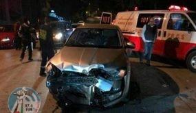 مصرع مواطن حادث سير ذاتي بطوباس