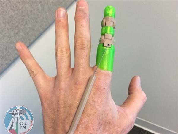 استخدام تقنيات الطباعة المجسمة لصناعة أصبع آلي مرن