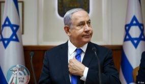 """نتنياهو يجدد تهديداته: سنفرض """"سيادتنا"""" على الضفة في تموز"""