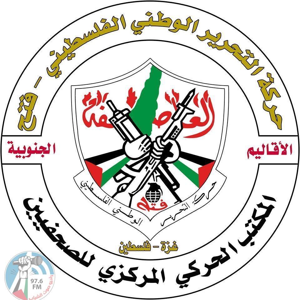 المكتب الحركي للصحفيين يدين استدعاء أجهزة حماس للزميل لؤي الغول ومنع ندوة إعلامية ضد الضم