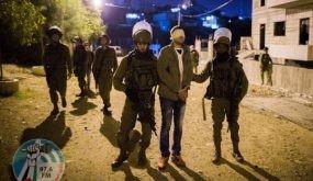الاحتلال يعتقل أربعة مواطنين من سبسطية