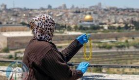 القدس: 4 وفيات جديدة بكورونا وتسجيل 10 اصابات