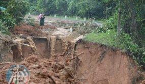 90 قتيلاً و34 مفقوداً حصيلة الفيضانات والانهيارات الطينية وسط فيتنام