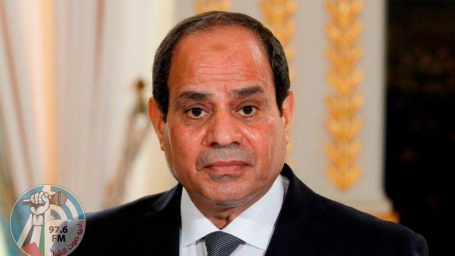 السيسي يؤكد مجدداً رفض مصر أي عمل أو إجراء يمس بحقوق مصر في مياه النيل