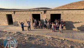 """الاحتلال يرفض التماسًا لمنع هدم مدرسة """"راس التين"""" شرق رام الله"""