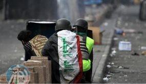 اشتباكات بين القوات الأمنية العراقية ومتظاهرين ببغداد
