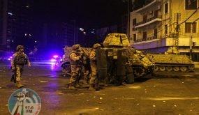 لبنان : مواجهات و ليلة دموية في طرابلس