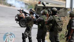الاحتلال يداهم منزلا في قرية تعنك ويطلق قنابل غاز على العمال غرب جنين
