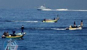 بحرية الاحتلال تهاجم الصيادين والمزارعين في غزة