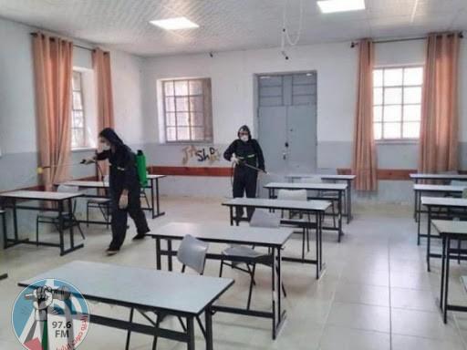 """بسبب """"كورونا""""تربية بيت لحم تغلق عددا من المدارس والشعب الصفية"""
