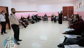 الضابطة الجمركية تقدم محاضرة توعوية لدورة المستوى الثالث لتأهيل قادة الفرق الكشفية المدرسية في رام الله