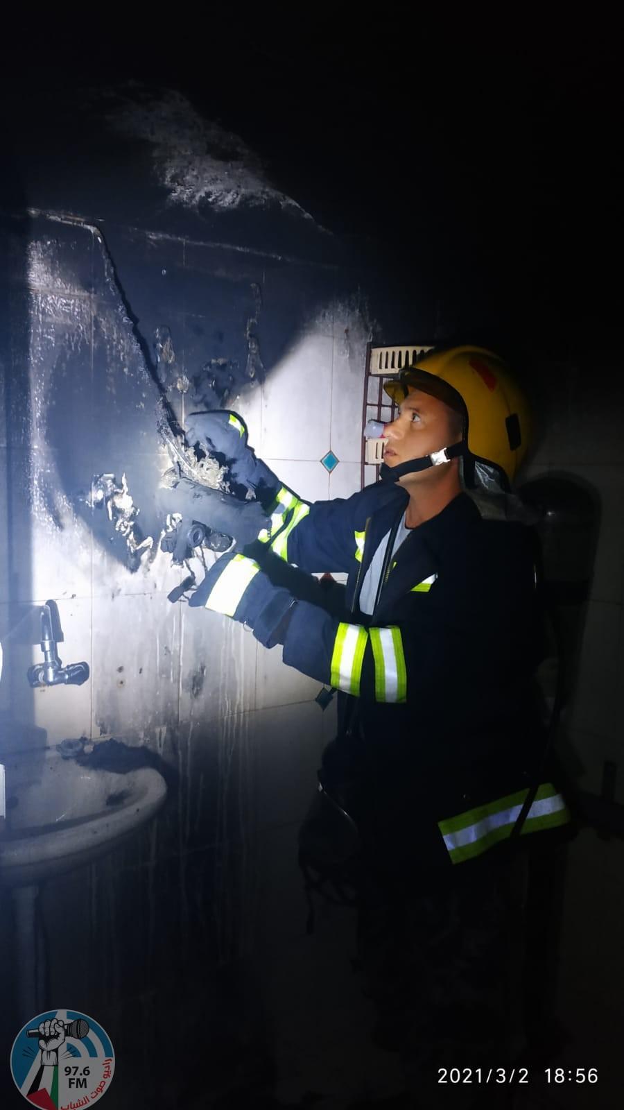 الدفاع المدني :وفاة مواطن إثر حريق منزل في بلدة كفر عقب