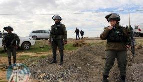 الاحتلال يخطر بإخلاء المواطنين بالقوة لإجراء تدريبات عسكرية في خربة ابزيق بالأغوار الشمالية