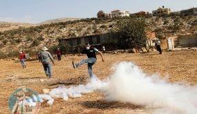 جنين: اصابة شاب بالرصاص المعدني وآخرين بالاختناق إثر قمع الاحتلال مسيرات منددة بالعدوان على شعبنا