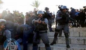 إصابة 3 مواطنين خلال مواجهات مع قوات الاحتلال في باب العامود