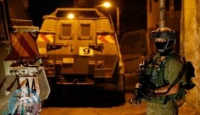 الاحتلال يعتقل أربعة شبان من محافظة رام الله