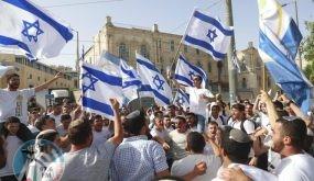 """القائمة المشتركة تطالب بإلغاء مسيرة """"الأعلام"""" وتحذّر من إشعال الوضع في القدس"""