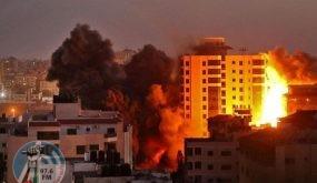 طائرات الاحتلال تقصف موقعاً غرب خان يونس وآخر جنوب مدينة غزة