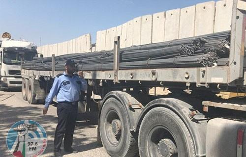 غزة: إدخال 1500 طن حديد بناء دون التقيد بالآلية الأممية