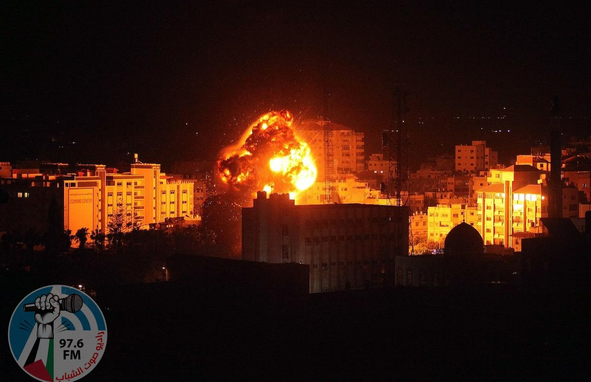 طائرات الاحتلال تقصف عدة مواقع في قطاع غزة فجراً وتلحق خرابا بممتلكات المواطنين