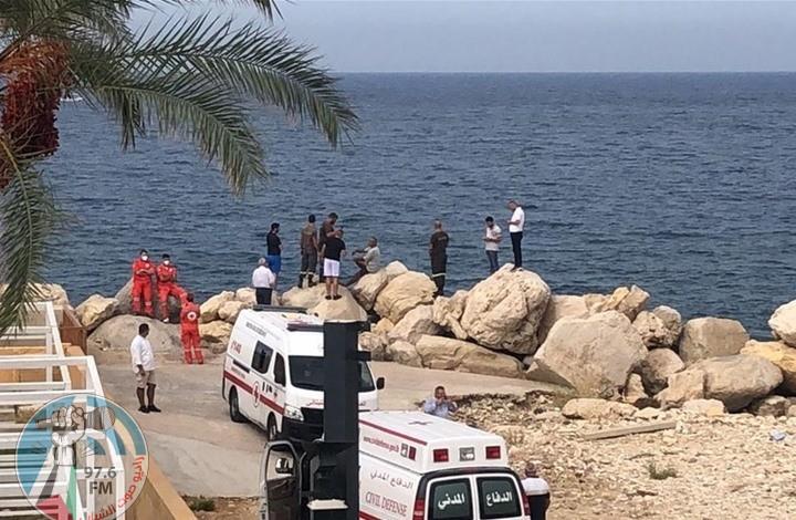 الوكالة اللبنانية : قتلى وجرحى جراء سقوط طائرة في البحر