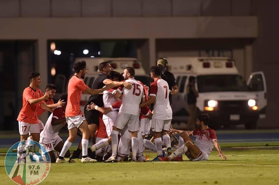 الأولمبي الأردني يفوز على نظيره السعودي ويتوّج ببطولة غرب آسيا