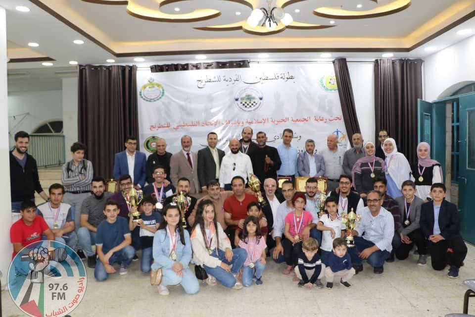 بهاء مسودة يتوج بلقب بطولة فلسطين الفردية للشطرنج