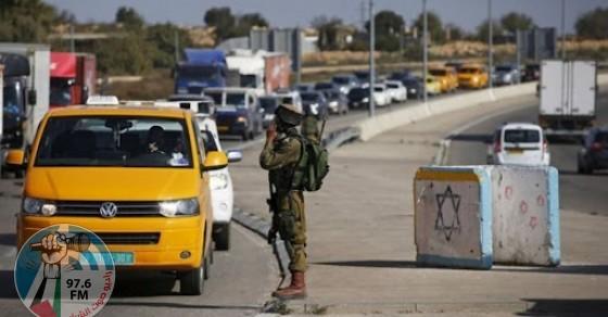 الاحتلال يعيق حركة تنقل المواطنين شرق قلقيلية